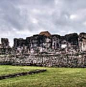 Tulum Ruins Poster