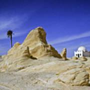 Tunisian Desertscape Poster