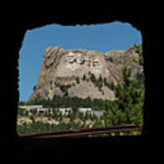 Tunnel View Mt Rushmore 2 A Poster
