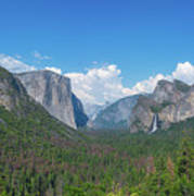 Tunnel View Panorama  Poster
