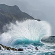 Turbulent Shore Poster