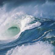 Turbulent Shorebreak Poster