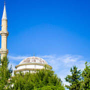 Turkish Mosque Poster