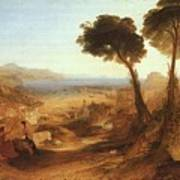 Turner Joseph The Bay Of Baiae With Apollo And The Sibyl Joseph Mallord William Turner Poster