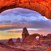 Turret Arch 1 Poster