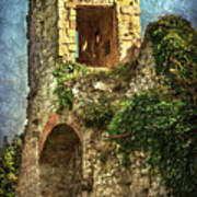 Turret At Wallingford Castle Poster