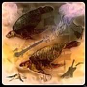 Turtles Play Yard Poster