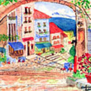 Tuscan Archway II Poster