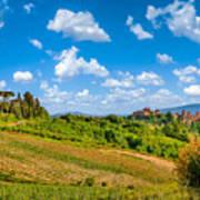 Tuscan Idyll  Poster