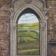 Tuscan View Poster
