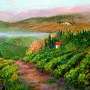 Tuscan Vista Poster