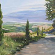 Tuscan Walk Poster