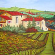 Tuscany Poster by Amanda Schambon