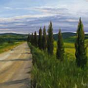 Tuscany Road Poster