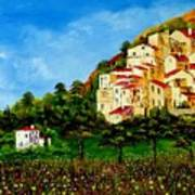 Tuscany Spring Poster