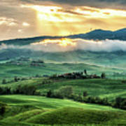 Tuscany Sunburst- Poster