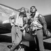 Tuskegee Airmen Poster by War Is Hell Store