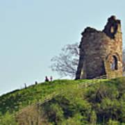 Tutbury Castle Ruins Poster