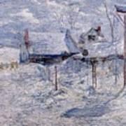 twachtman last touch of sun c1893 John Henry Twachtmann Poster