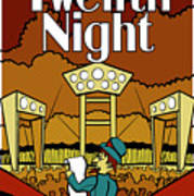 Twelfth Night Poster Poster