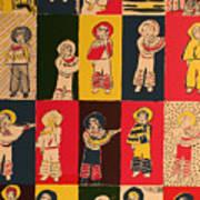 Twenty little Mexicans Poster