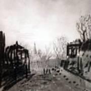 Twilight Landscape 1880 Alexey Kondratievich Savrasov Poster