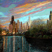 Twilight Serenity II Poster by Doug Kreuger