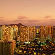 Twilight Waikiki Poster