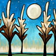Twilight Woods Poster