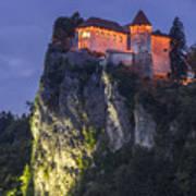 Bled Castle Poster