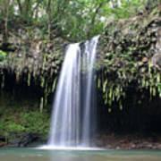Twin Falls Maui Hawaii Poster