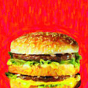 Two All Beef Patties Poster
