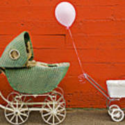 Two Baby Buggies  Poster