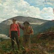 Two Guides Poster by Winslow Homer