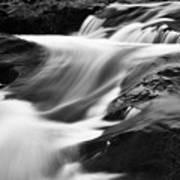 Two Island River Cascade Poster