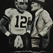Two Of The Greastest Minds In Pro-football Poster by Robert Ballance