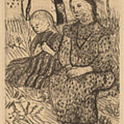 Two Peasant Girls Poster