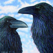 Two Ravens Poster