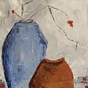 Two Vases Still Life Poster