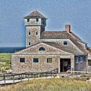 U S Lifesaving Station Poster