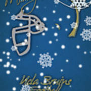 Ucla Bruins Christmas Card Poster