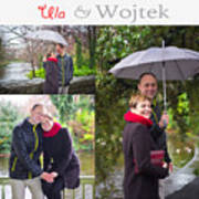Ula And Wojtek Engagement 1 Poster