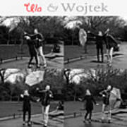 Ula And Wojtek Engagement 3 Poster