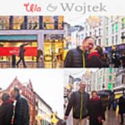 Ula And Wojtek Engagement 5 Poster