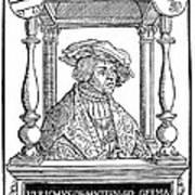 Ulrich Von Hutten, German Poet Poster
