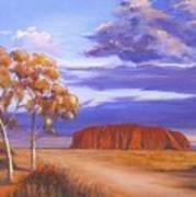 Uluru  - Ayers Rock Poster
