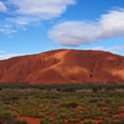 Uluru Poster by Pamela Kelly Phillips
