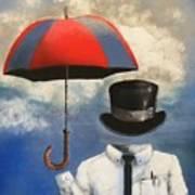 Umbrella Poster by Crispin  Delgado