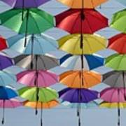 Umbrella Rainbow Poster