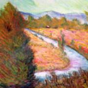 Umbrian Landscape Poster